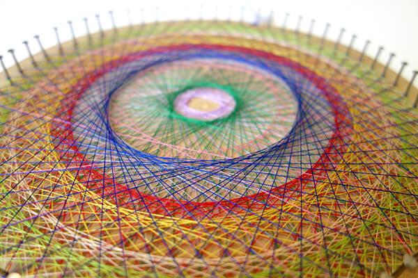 マンダラアート | 素数をかけて不思議な模様をつくります
