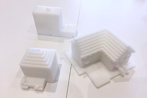 Minecraft(マインクラフト) | マイクラで作った家を3Dプリントした作品。