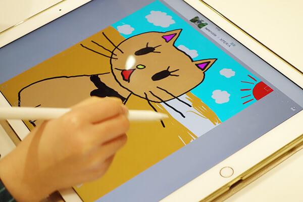 Tayasui Sketches | アップルペンシルを使ってイラストを描きます。