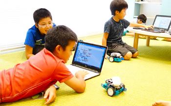 ロボットプログラミングでmBotを動かす