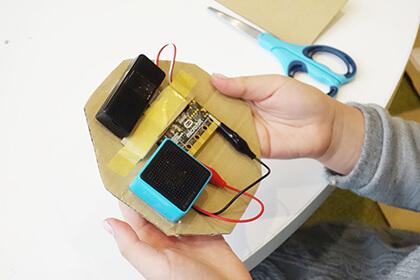 電子工作:動物ロボットを作ってみよう