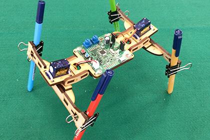 電子工作:オリジナルロボットを作ろう