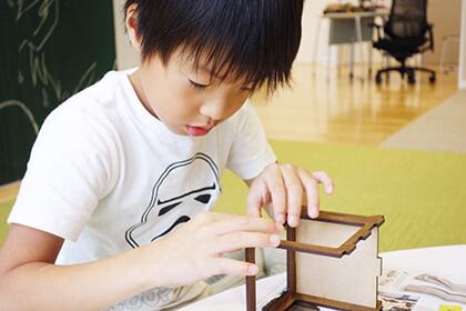 電子工作:びっくり箱を作ろう