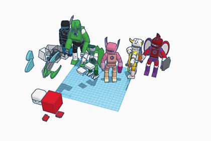 CG:ミニチュアゲームのコマをモデリングしよう