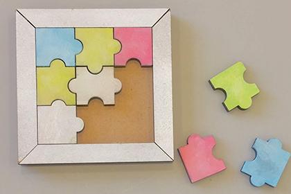 デジタルファブ:モデリングでパズルを制作しよう
