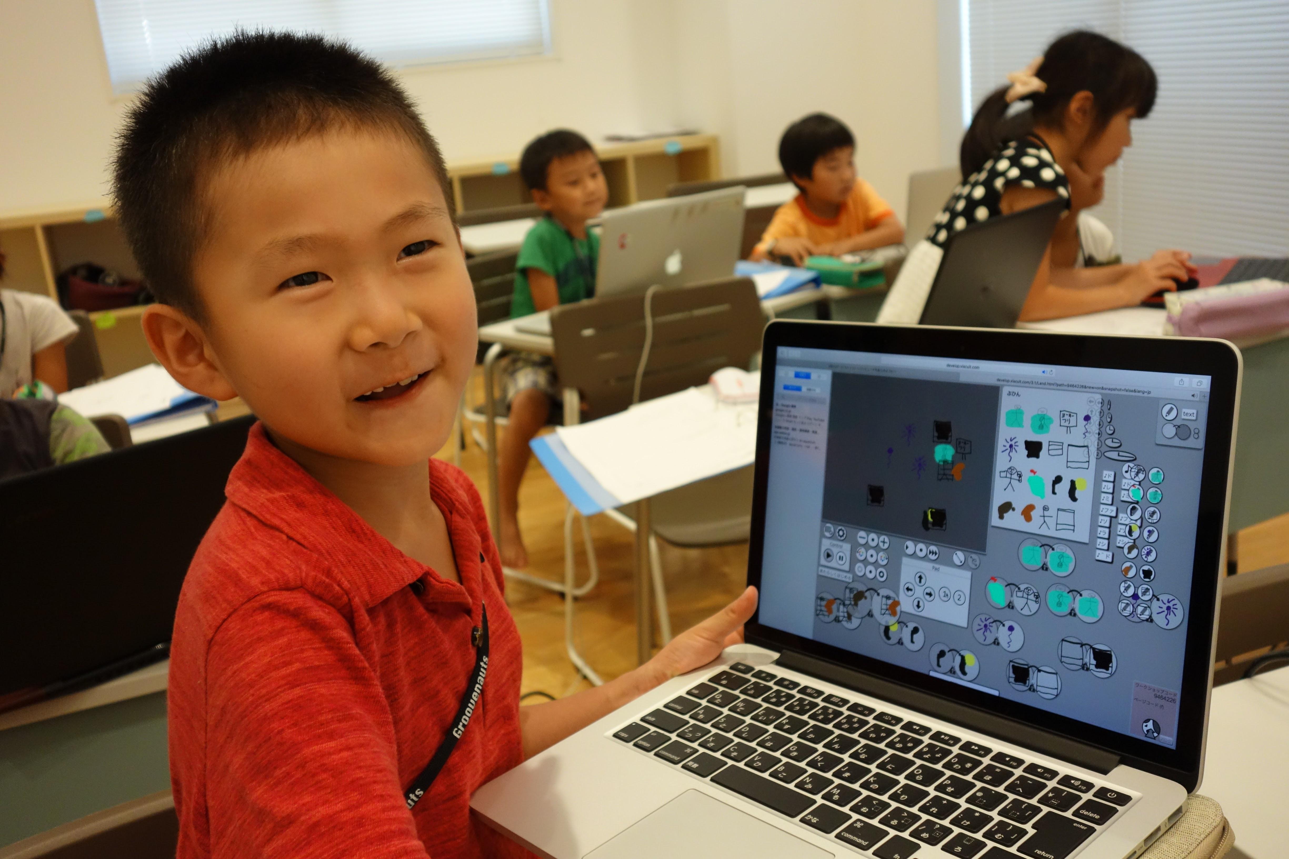 【サマースクール2016レポート5】小学1年生からゲームがつくれるビジュアルプログラミングViscuit