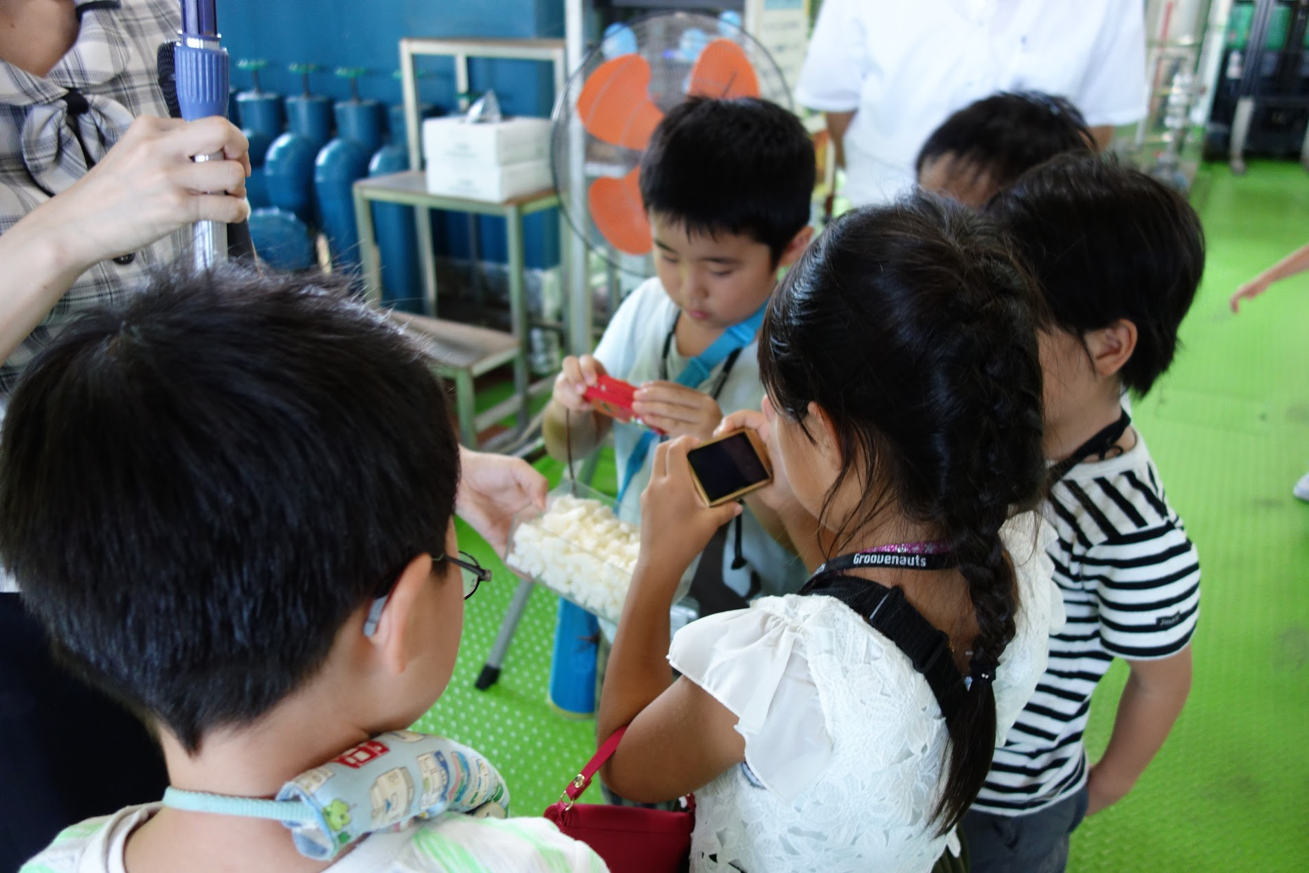 Summer School Report #7: Let's go see technology in action! Field trips to the TOTO Museum and Shabondama Soap factory