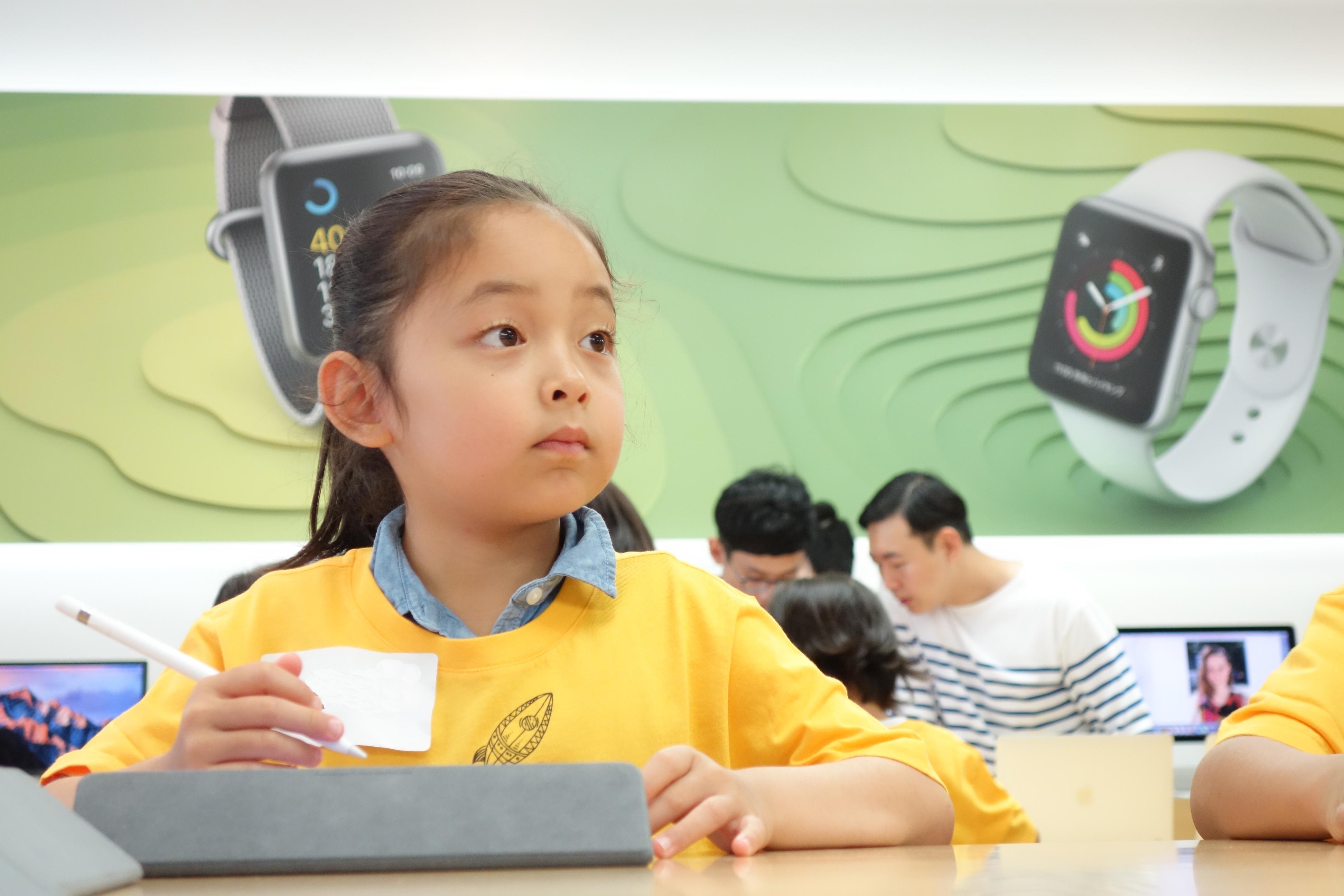 2/24(日)年長〜小学2年生限定: iPadで映像をつくろう!